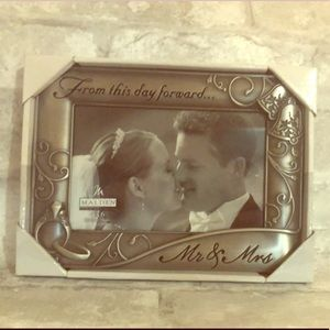 Mr.&Mrs. Wedding frame